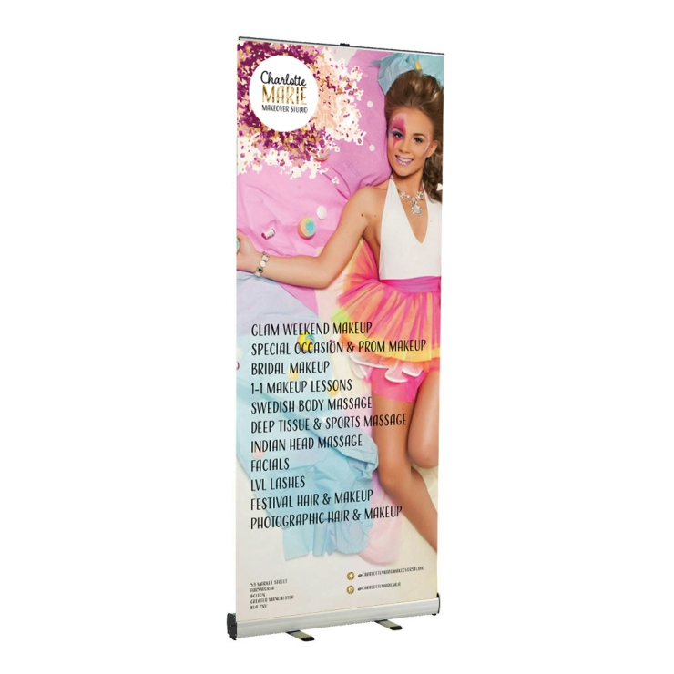CMMS roller banner concept design